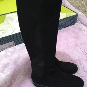 6546f842ca8 Tory Burch Shoes - Tory Burch Caitlin Stretch OTK Boot